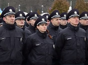 New Police' launch in Vinnitsa, 22.02.2016