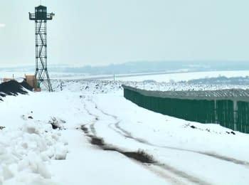 """Проект """"Стена"""". Украина продолжает укреплять границу с Россией"""