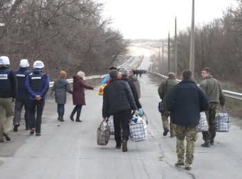 Шесть человек из «ЛНР» обменяли на двух гражданских и одного военного с украинской стороны