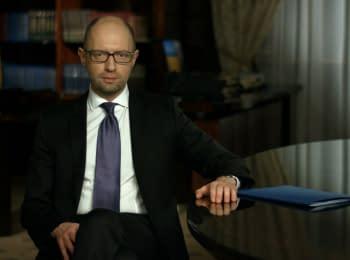 10 хвилин із Прем'єр-міністром України, 27.03.2016
