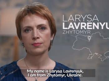 Larysa Lavrenyuk. Ukraine's Next Generation
