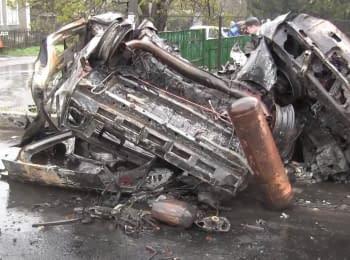 Tragedy in Olenivka