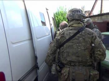 За останній тиждень СБУ затримала чотирьох бойовиків та інформатора терористів