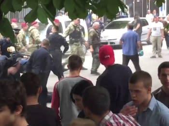 Столкновения на улице Ярослава Мудрого. Харьков, 09.05.2016