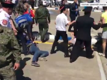 Нападение на Алексея Навального в Анапе, 17.05.2016