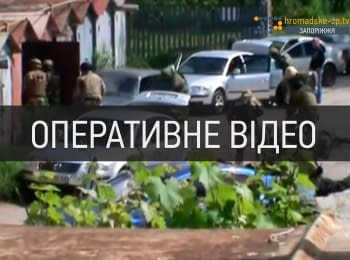 Operative video of the gang's arrest in Zaporizhya, - shooting, weapons and lots of gold