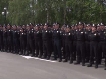 New patrol police started its work in Kryvyi Rih