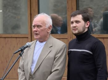 Перше слово звільнених Афанасьєва та Солошенка після повернення в Україну