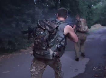 Saboteurs tried to break into Maryinka
