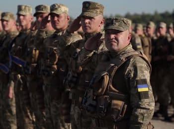 Подготовка к военному параду на День независимости