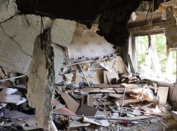"""They shelling our houses everyday,"" - residents of Krasnogorivka"