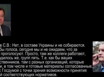 ГПУ: Докази причетності влади РФ до посягання на територіальну цілісність України