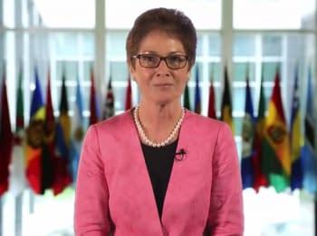 Видео-обращение Мари Йованович - нового Чрезвычайного и Полномочного Посла США в Украине
