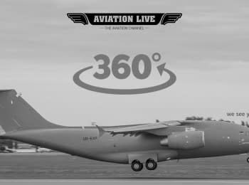 Antonov AN-178 demo flight training #360°