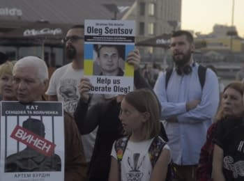 One year ago Sentsov and Kol'chenko were sentenced to prison