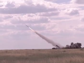 Turchynov: Ukrainian missiles' firing tests were successful