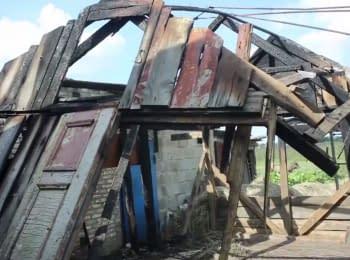 Красногоровку обстреляли из «Градов»