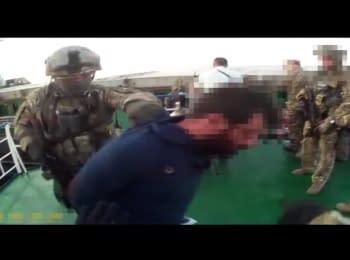 СБУ звільнила заручників, яких захопили на турецькому судні у територіальних водах України