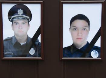 Хатія Деканоїдзе приїхала до Дніпра вшанувати загиблих поліцейських