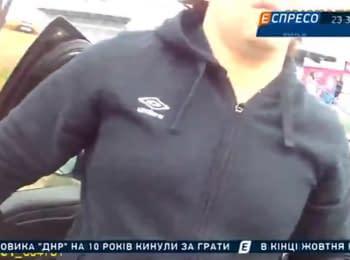 Video from breastplate-camera of policeman Artem Kutushev