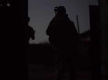 Ночной бой в Марьинке