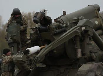 Артиллеристы провели учения по уничтожению вражеских ВОПов