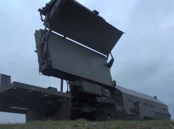 "Ukrainian-made radar station 79K6 ""Pelican"""