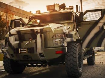 Unmanned vehicle KrAZ-Spartan