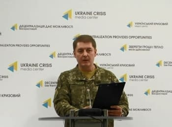 Briefing about developments in Ukraine of the Information Center of NSDC, 22.11.2016