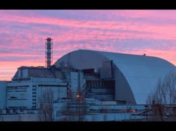 Четвертий енергоблок Чорнобильської АЕС повністю накрили новим саркофагом