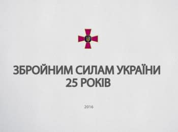 25th anniversary of the Armed Forces of Ukraine