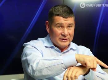 Появилось видео как Онищенко обучают что и как говорить во время записи программы