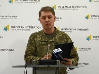 Briefing about developments in Ukraine of the Information Center of NSDC, 03.01.2017