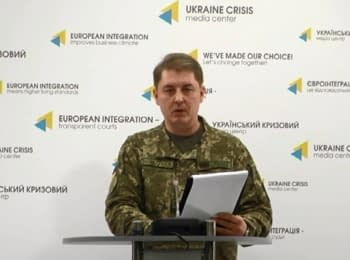 Briefing about developments in Ukraine of the Information Center of NSDC, 16.01.2017