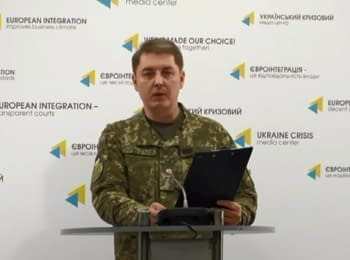 Briefing about developments in Ukraine of the Information Center of NSDC, 17.01.2017