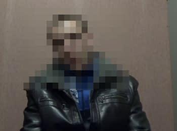 """На Сумщині СБУ затримала бойовика терористичної організації """"Оплот"""""""