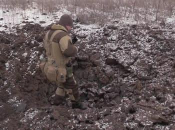 Артилерія терористів обстріляла позиції українських бійців