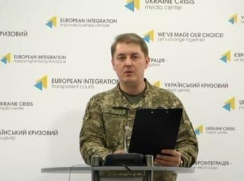 За минулу добу загинув 1 український військовий, 18 поранені - Мотузяник, 01.02.2017