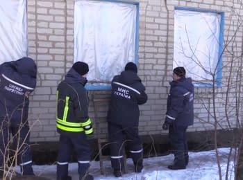 Авдеевка. Помощь жителям, пострадавшим от обстрелов, 09.02.17