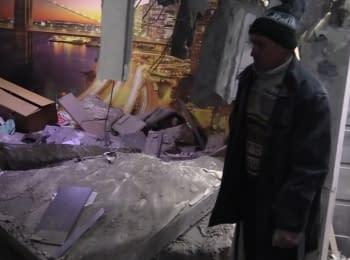 Обстріл житлових кварталів Авдіївки, 17.02.2017