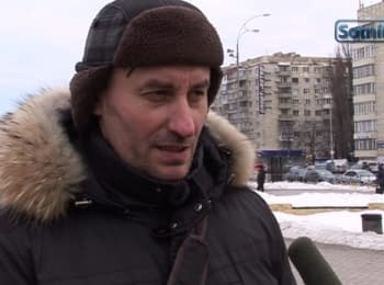 Кияни - Москвичам: «Росія - агресор, а не помічник»