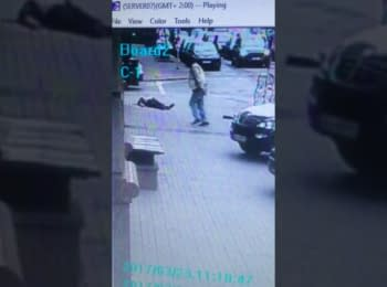 Video with the moment of of Denis Voronenkov' murder