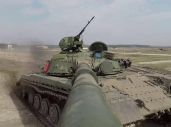 Проверка Т-64 перед отправкой в Вооруженные Силы Украины