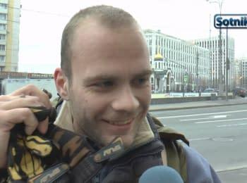 Москвичі: «Українці - без віз, а прикро - нам...»
