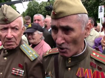 """""""Immortal Regiment"""" in Kyiv"""
