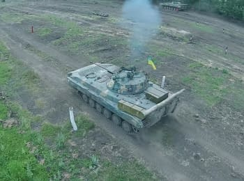 Competition for the best crew of the ATO' infantry fighting vehicle