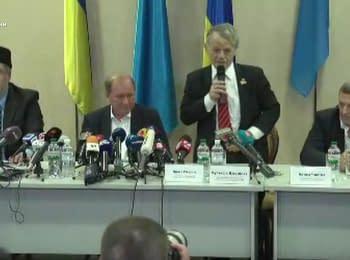Умеров і Чийгоз повертаються в Україну