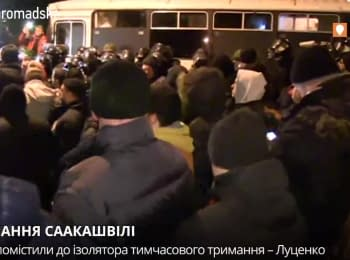 Михеила Саакашвили задержали в Киеве