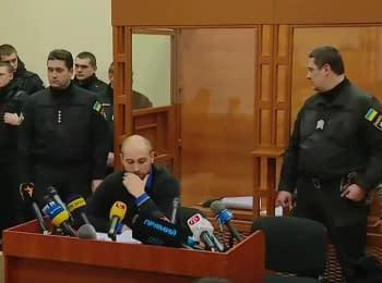 Убийство Ирины Ноздровской: избрание меры пресечения подозреваемому в убийстве