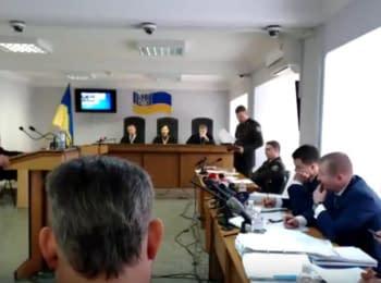 Судове засідання у справі за обвинуваченням В.Януковича у державній зраді, 08.02.2018